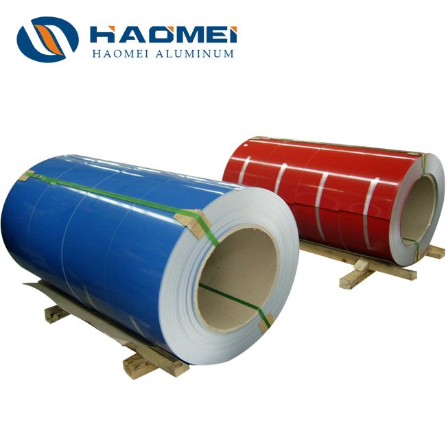 5000 Series Color Coated Aluminum Coil, Color Coated Aluminum Coil, coated aluminum coil