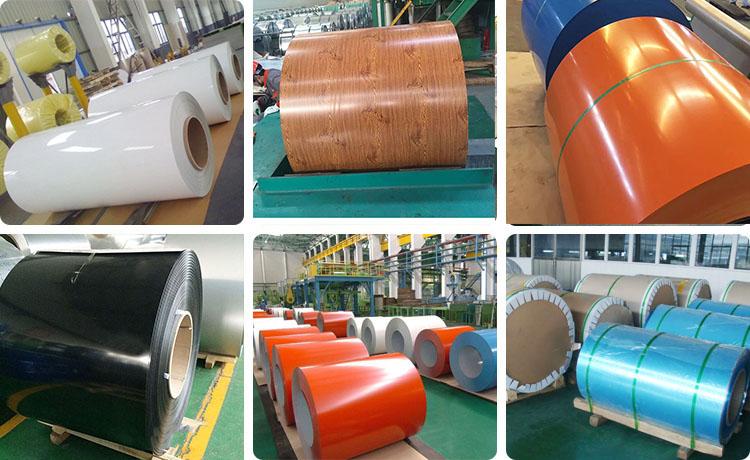 5xxx color coated aluminium coil