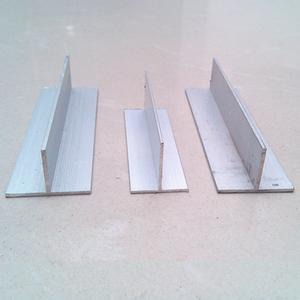 T bar Extruded Aluminum Profile