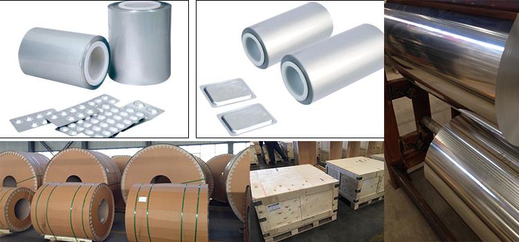 Aluminium Foil For Pharmaceutical Packaging