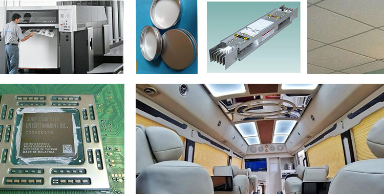 aa1100 aluminium coil application