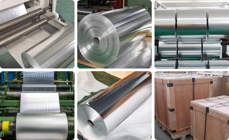aluminium foil packaging material
