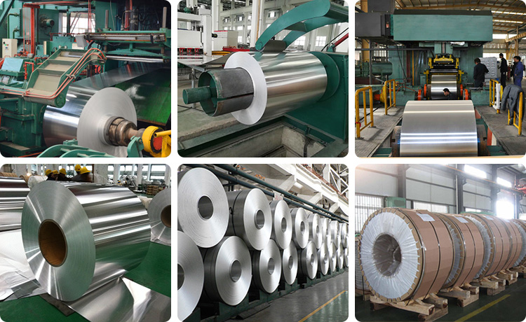 This shows our workshop for 2014 aluminum coil.