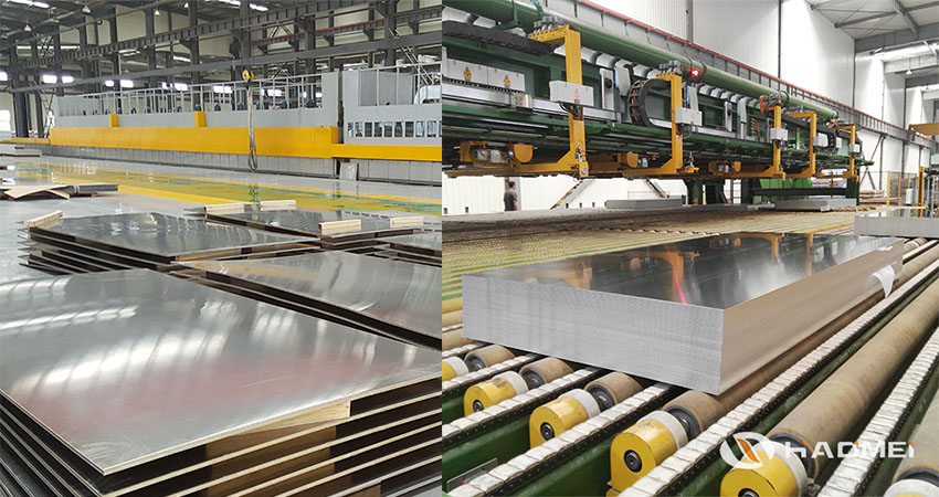 This shows workshop of our anodized aluminum sheet metal.