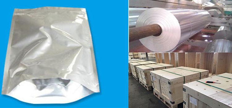 food packaging aluminium foil