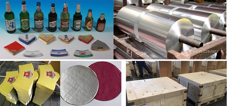 sealing liner aluminium foil