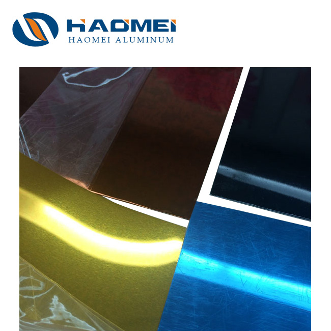 aluminum mirror coil sheet