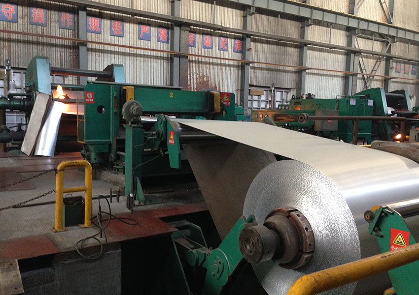 Aluminum coil for trailer roof