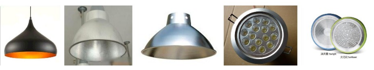 aluminium circle for lighting covers and decorative parts