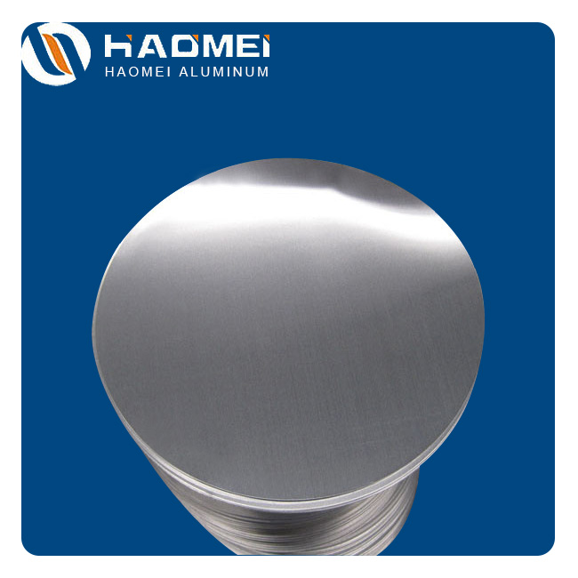 Aluminium discs for lamp parts