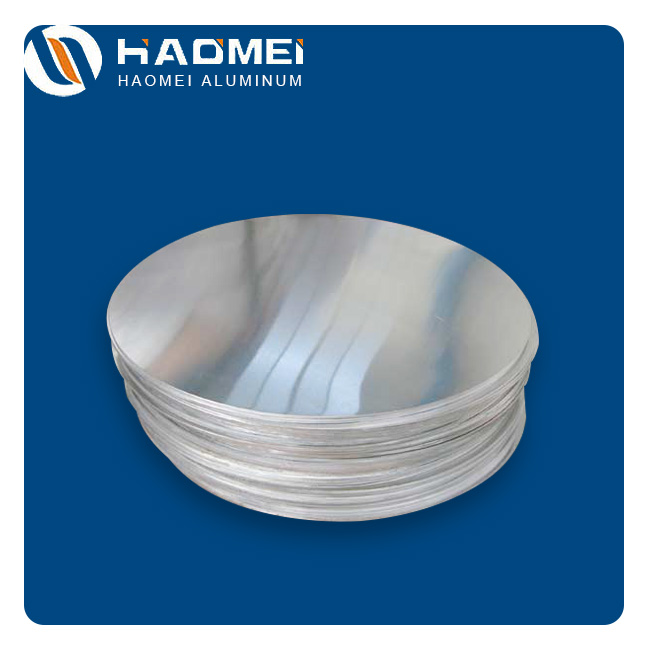 Aluminum circle for food cans