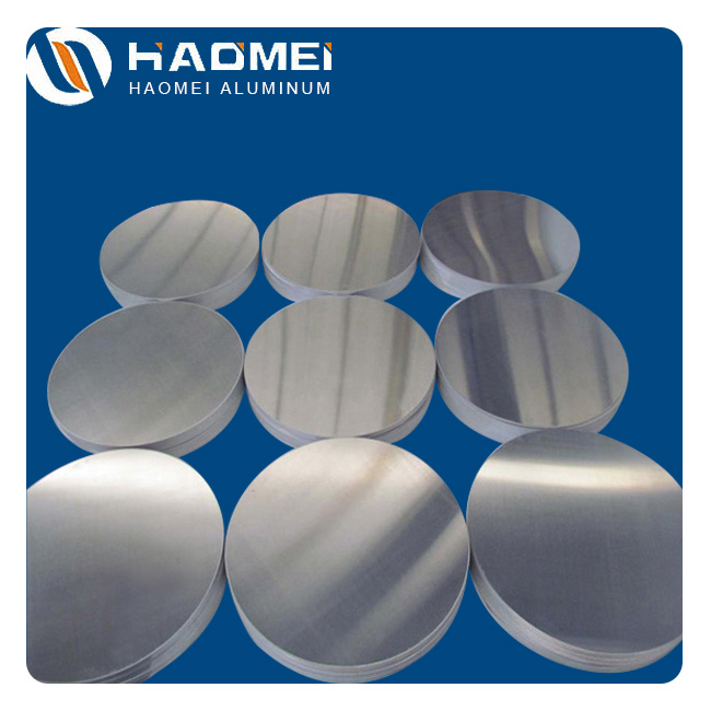 Aluminum discs for pharmaceutical cans