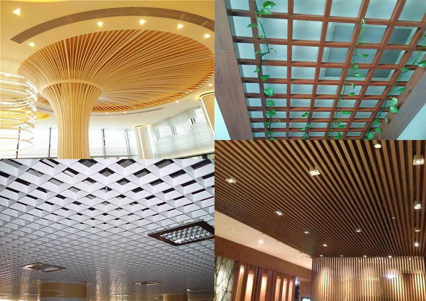 aluminium strip ceiling