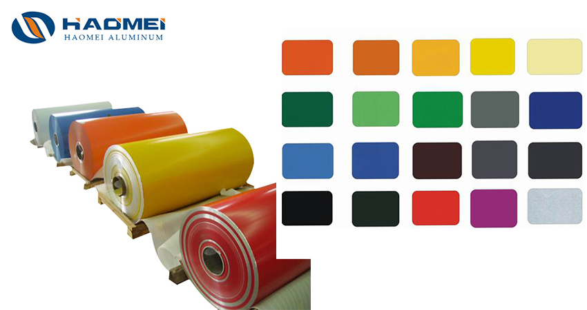 aluminum coil stock colors