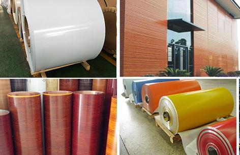 aluminum vinyl siding trim coil