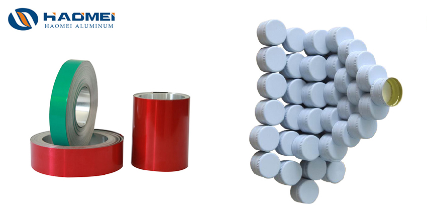 8011 H14 aluminum coil sheet for ropp caps