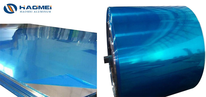 mirror finish aluminium sheet for UK