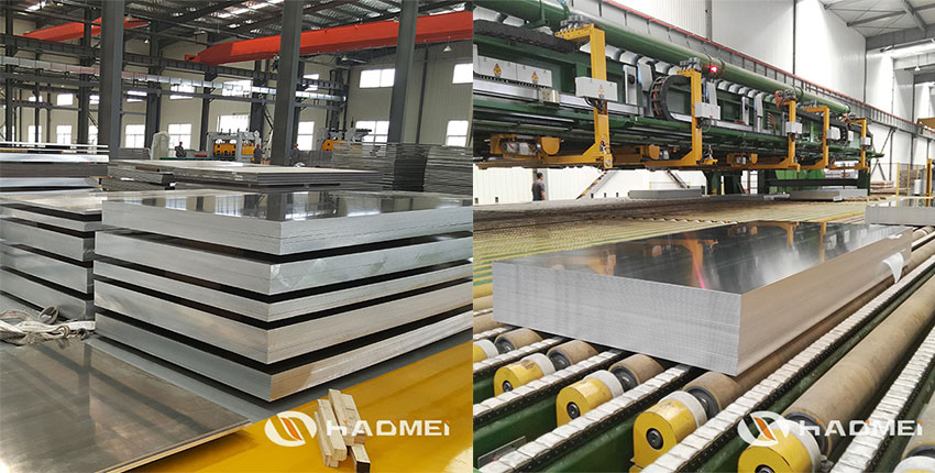 aluminum sheet metal thickness