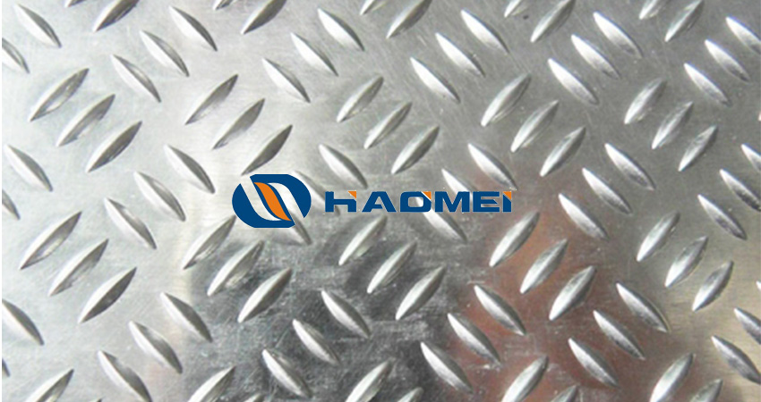 embossed aluminum sheets with triple rice grain pattern