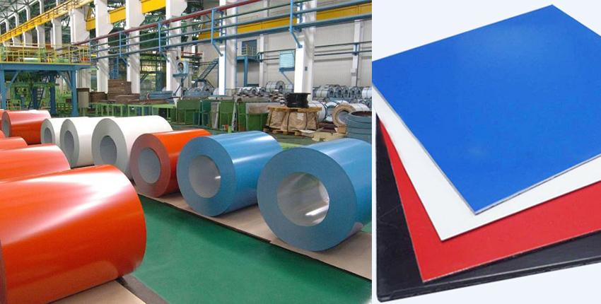 color coated aluminium sheet workshop