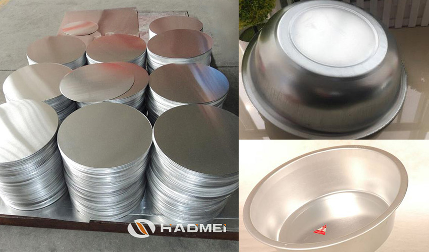circle aluminum plates