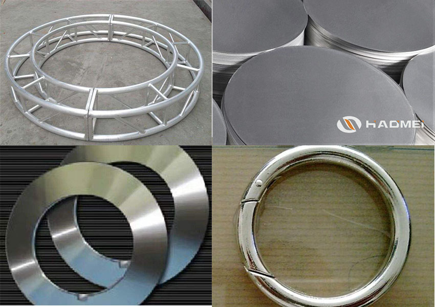 aluminum circle sheet and aluminium circle truss