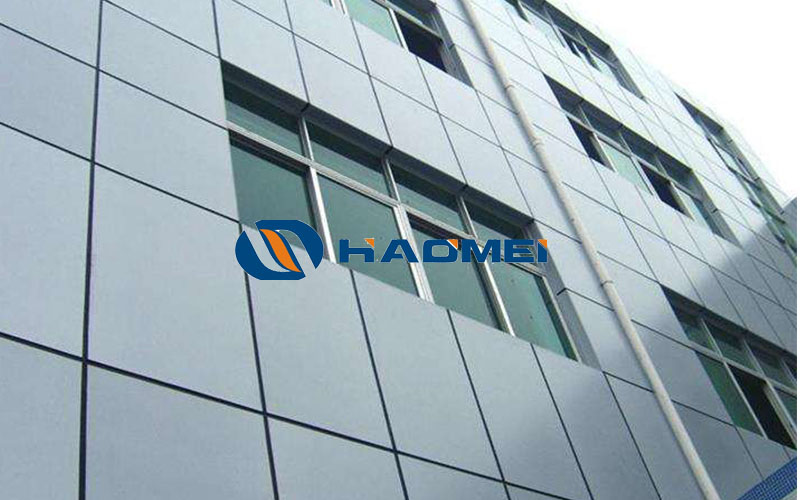 stucco embossed aluminum cladding sheet