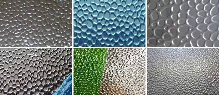 Pebble Embossed Aluminum Sheet