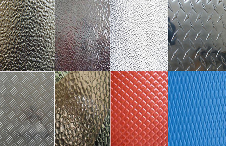 aluminum embossed sheet 0123