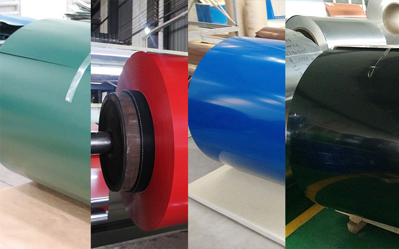 pvdf color coated aluminum coil suppliers