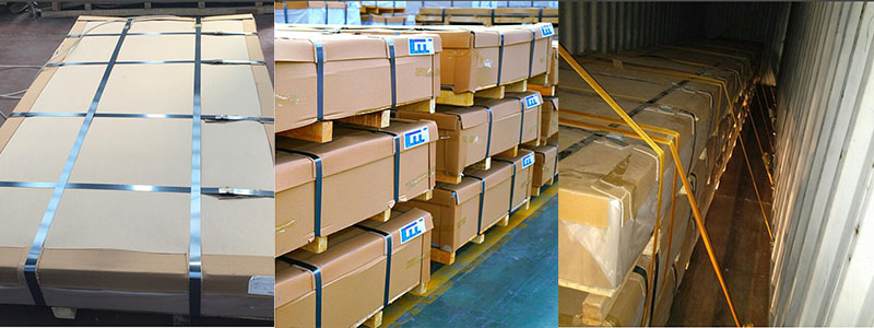3003 aluminum sheet plate packaging and shipping