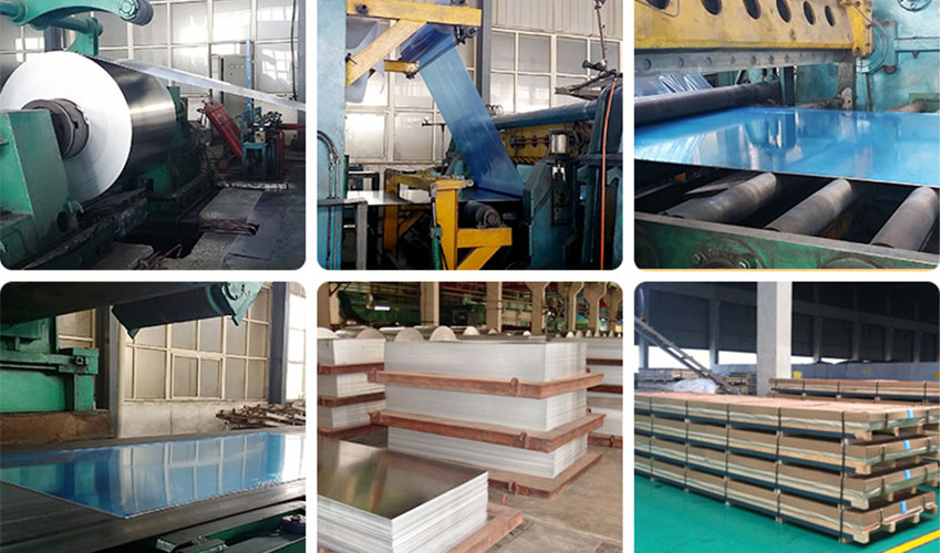 6061 aluminum sheet plate workshop and packing