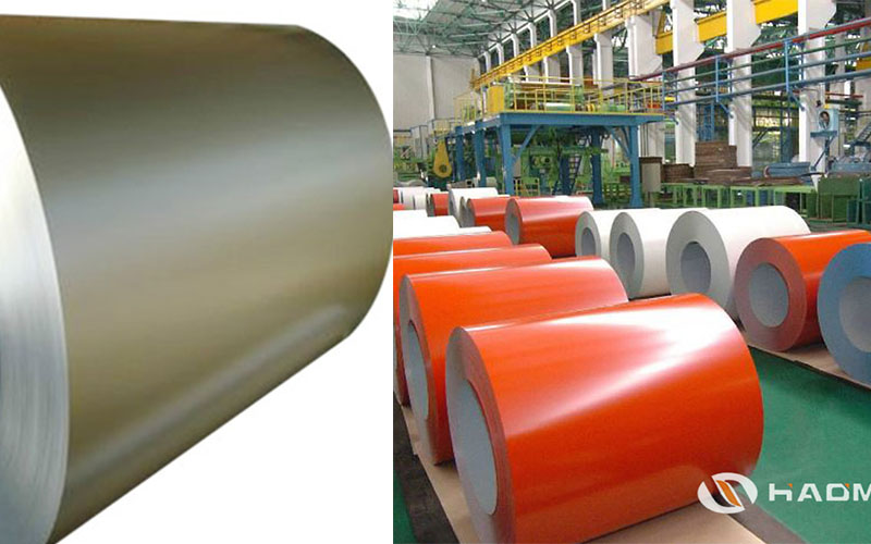 pvdf color coated aluminum coil