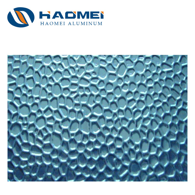 hammer embossed reflective aluminum sheet 1