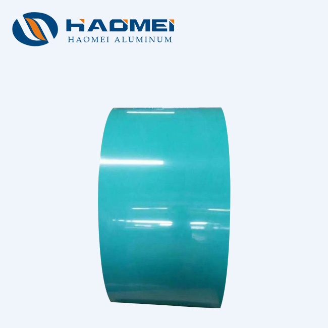 coated aluminum strip