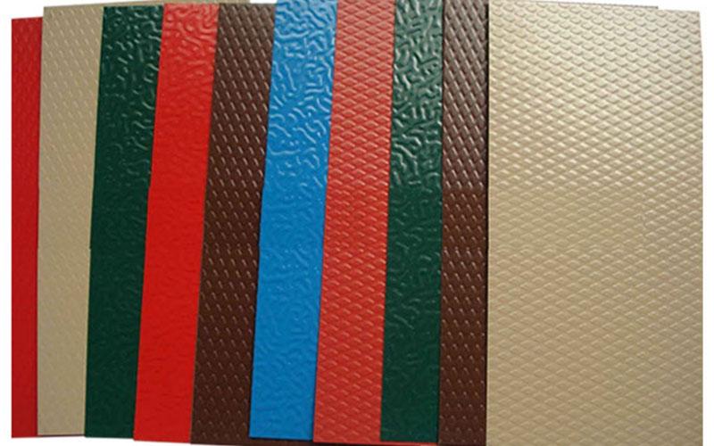 pvdf color coated aluminium coil