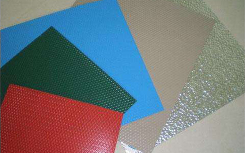 These are sheets of aluminium embossed painting.