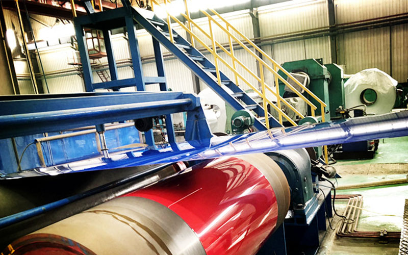 color coated aluminum coil hs code