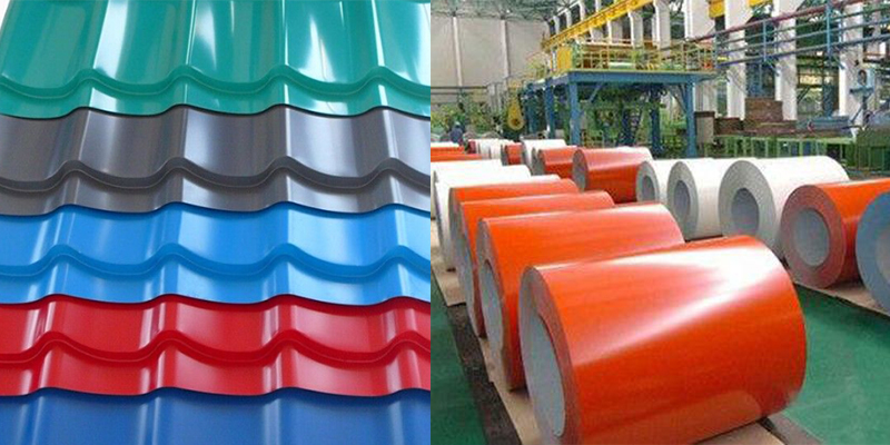 colour coated aluminium roofing sheet coil