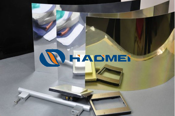 aluminum mirror reflect sheet