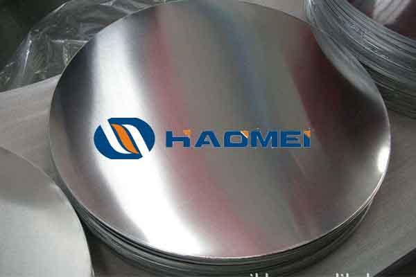 round aluminum disc