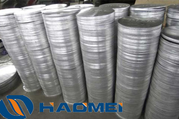 1050 and 3003 aluminium circle sheet