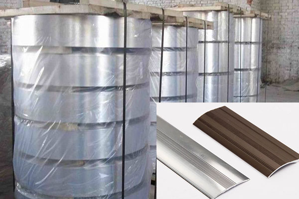 aluminium threshold strip