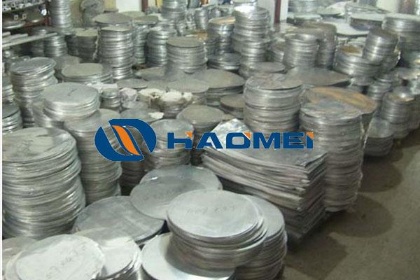 aluminum discs circles