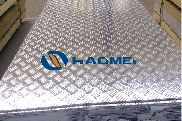 checker plate aluminum sheet thickness measurement