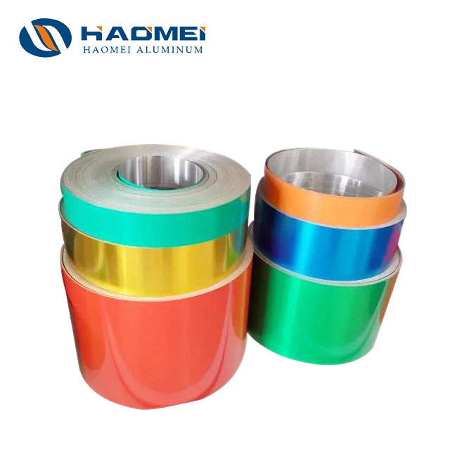 color coated aluminum foil for container 2