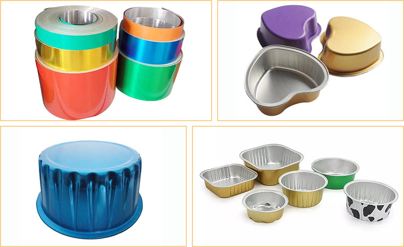 color coated aluminum foil for container application