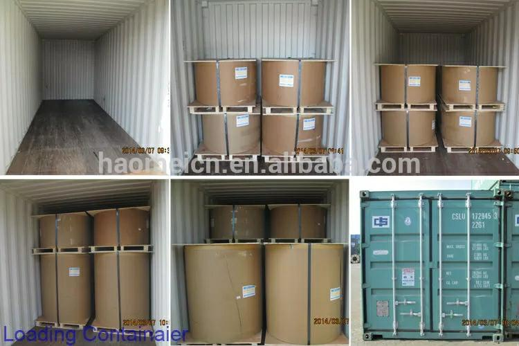 color coated aluminum foil for container packaging