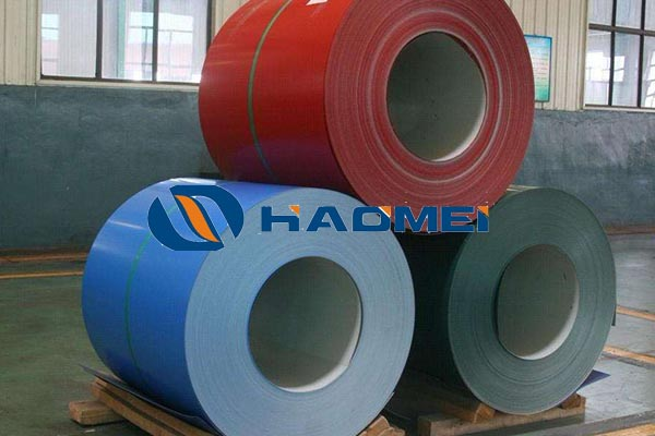 pvc coated aluminum trim coil