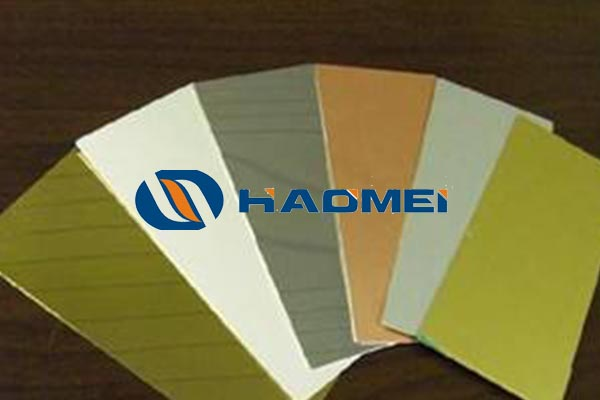 white anodized aluminum sheet
